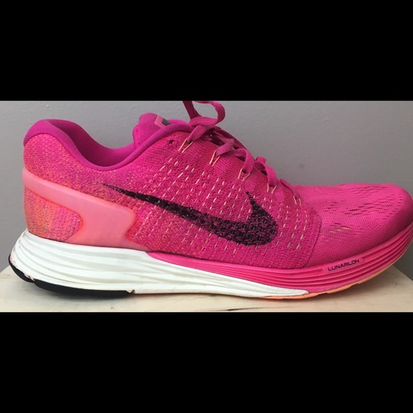 first rate 36e1a f3747 order nike girls grade school lunarglide 7 running shoes fd7c3 b7495  promo  code for womens nike lunarglide 7 size 10 pink 49371 4995f